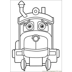 Chuggington 21 Free Coloring Page for Kids