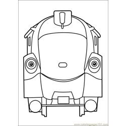 Chuggington 22 Free Coloring Page for Kids