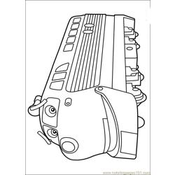 Chuggington 23 Free Coloring Page for Kids