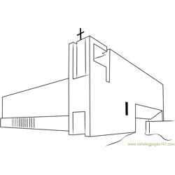 Tampa Covenant Church Free Coloring Page for Kids