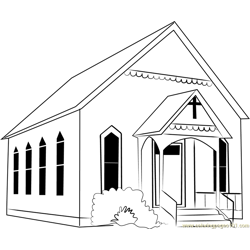 Watauga Presbyterian Church Free Coloring Page for Kids