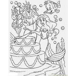 63 Coloring Pages Of Ariel Lrg