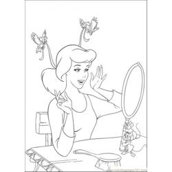 Birds Help Cinderella To Make Her Ribbon