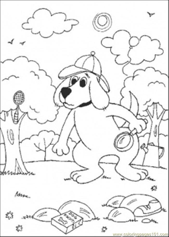 The Detectiv Coloring Page
