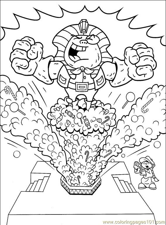 Code Name Kids Next Door Colouring Pages | Kids Next Door 001 6 Coloring Page Free Codename Kids Next Door