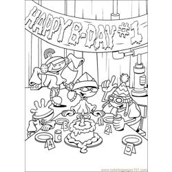 Kids Next Door 001 coloring page