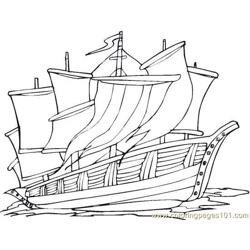 Columbus (10) coloring page