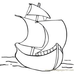 Columbus (12) coloring page