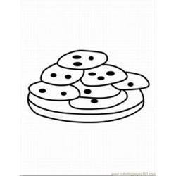 Cookie Monste7 Free Coloring Page for Kids