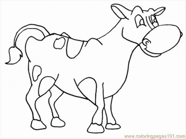 Cow24 Coloring Page
