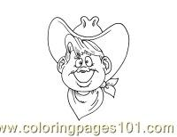 Cowboy Coloring Page 20(1) Coloring Page