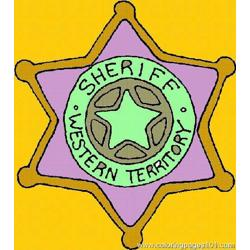 Cowboy Coloring Page 04 coloring page