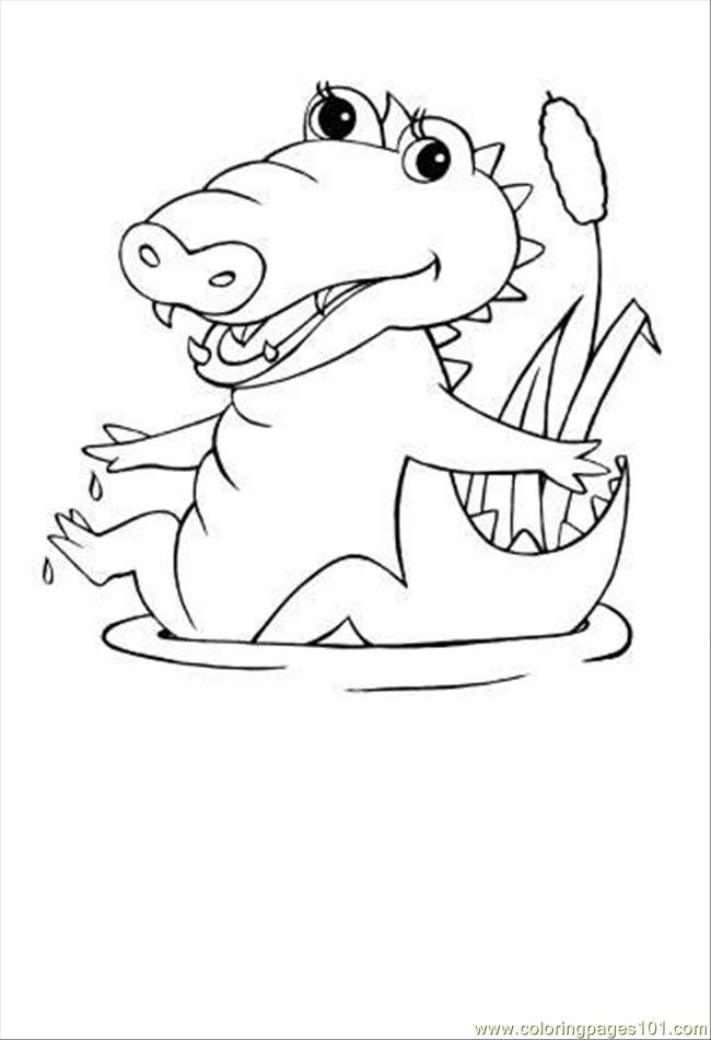 Alligator Coloring Pages - GetColoringPages.com | 950x650