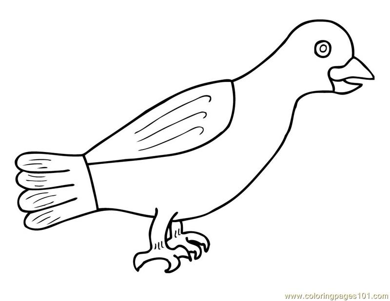 Crow prehispanic Coloring Page - Free Crow Coloring Pages ...