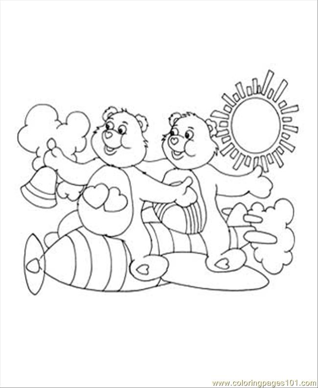 Care Bear 2 Coloring Page