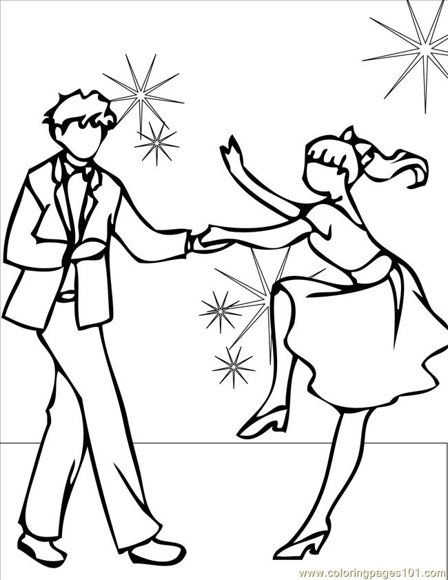 Swing Ink Coloring Page