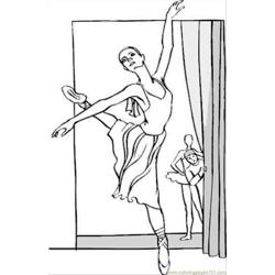 Ballet Coloring Pages 88