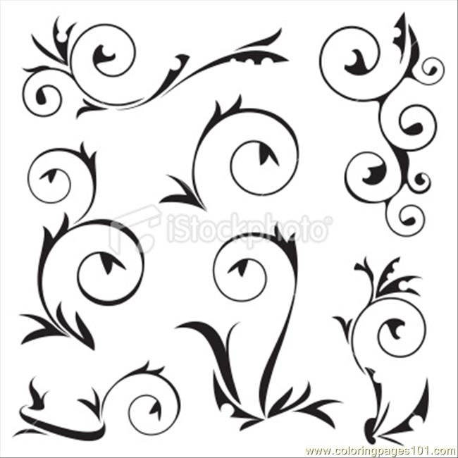 Frame Decoration Coloring Page - Free Decorations Coloring Pages ...