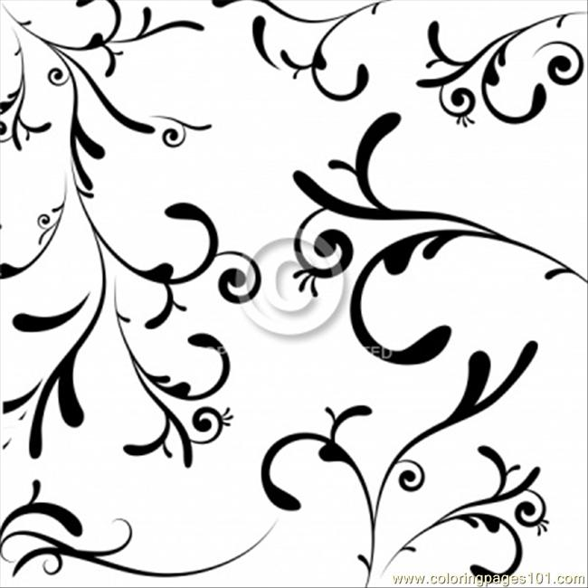 Tion Black Stock Photo A Coloring Page