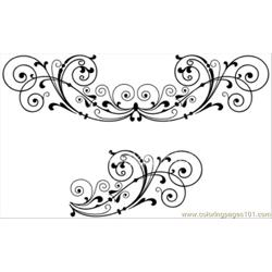 Hoto Scroll Decoration