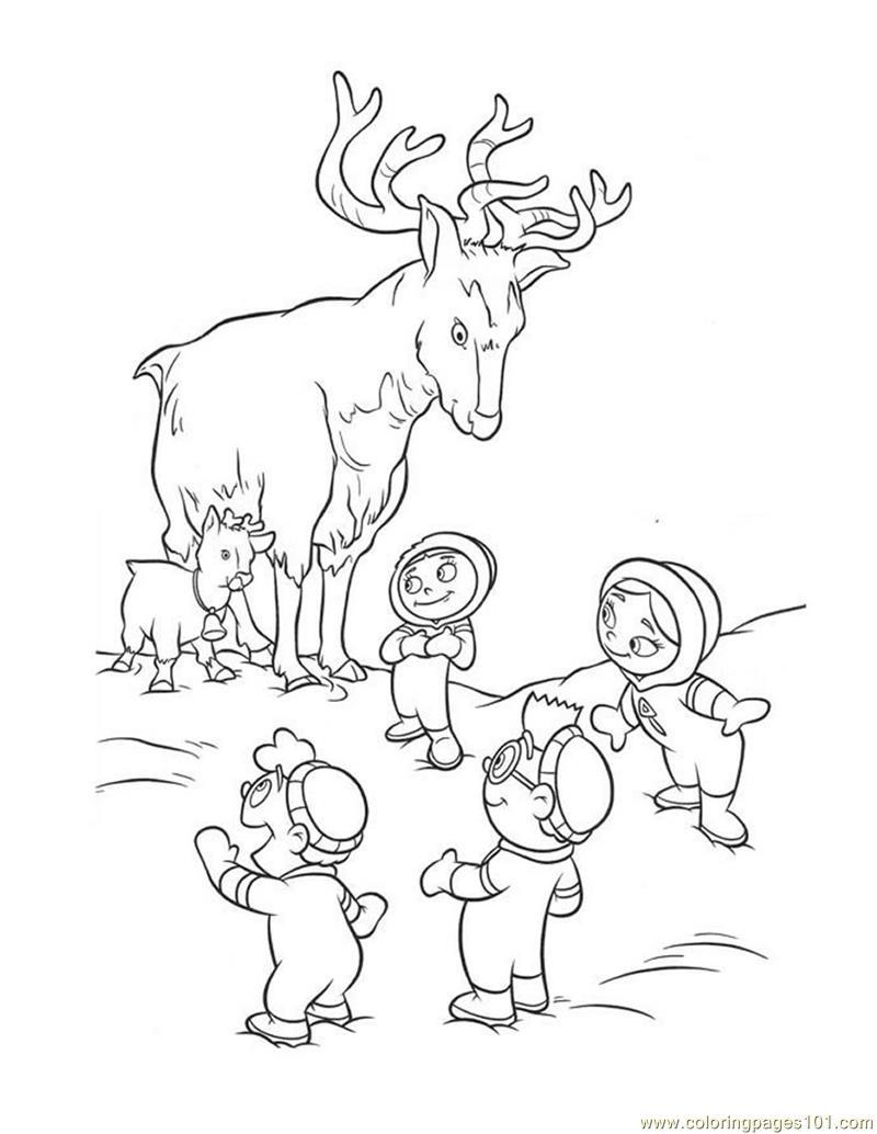 Little einsteins coloring games online - Deer Little Einsteins Coloring Page