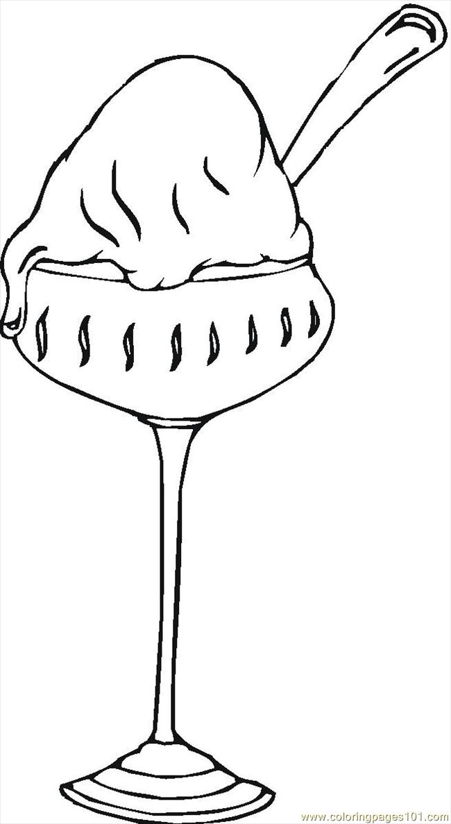 16129349 Coloring Page Free Desserts Coloring Pages
