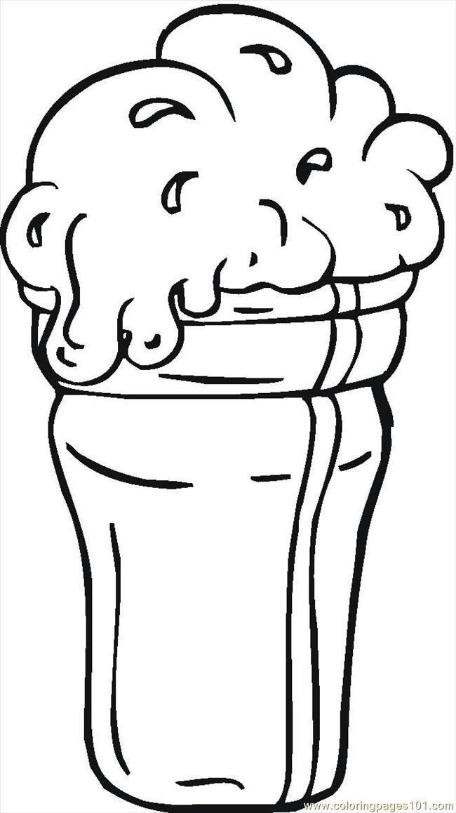 16129412 Coloring Page Free Desserts Coloring Pages