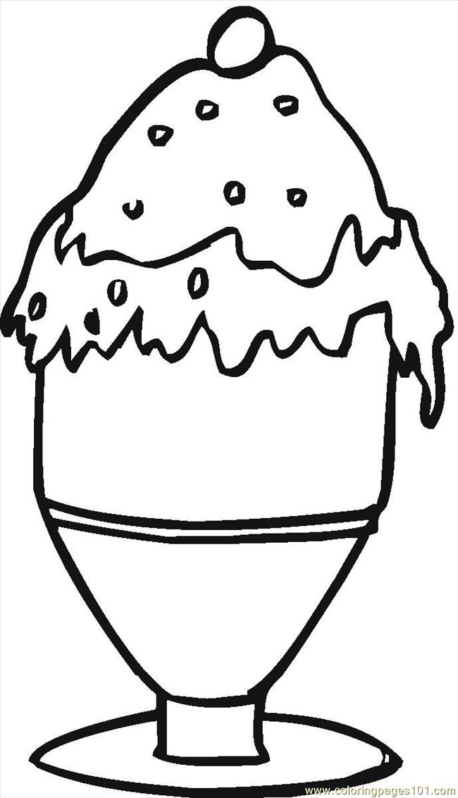 16129629 Coloring Page - Free Desserts Coloring Pages ...