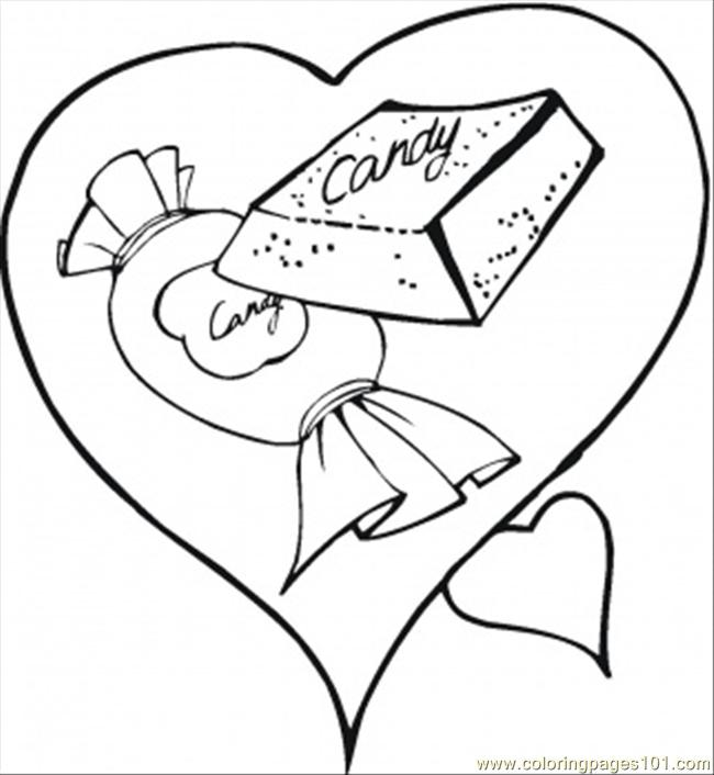 Dy In The Heart Coloring Page Coloring Page