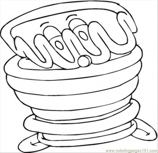 Milk Chocolate Coloring Page Free Desserts Coloring