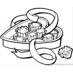 Candy Box coloring page