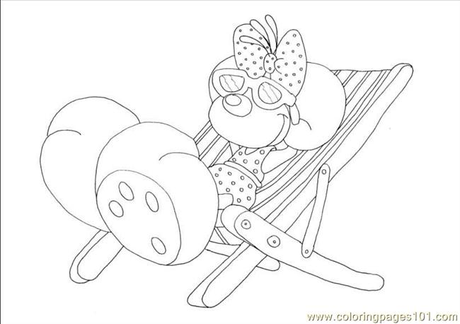 Diddlina 02 Coloring Page