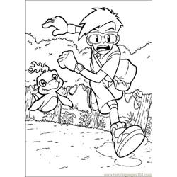 Digimon08 coloring page