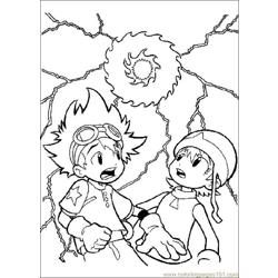 Digimon15 coloring page