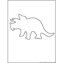 Dinosaur Outline1