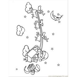 Disney Christmas 9 Free Coloring Page for Kids