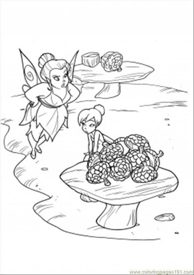 Fairy Mary Coloring Page Free Disney Fairies Coloring