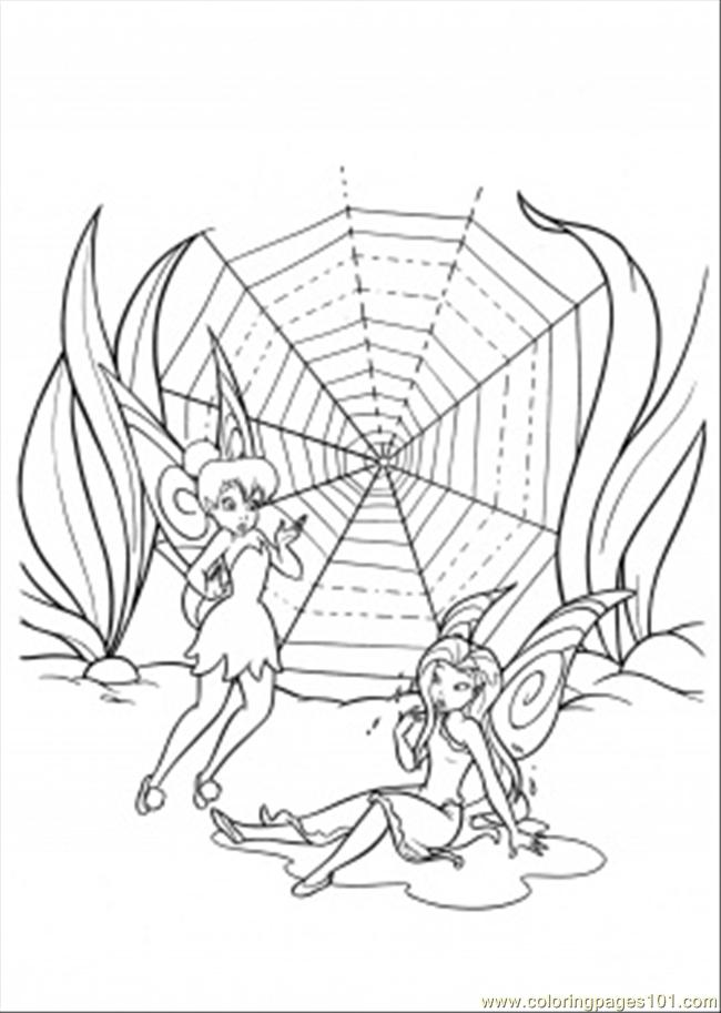 Nothing Worked Coloring Page Free Disney Fairies