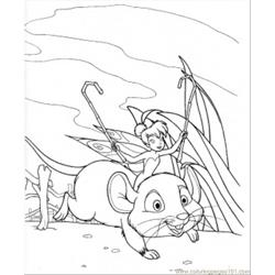 On The Mouse coloring page