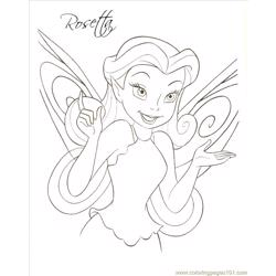 Rosettage coloring page