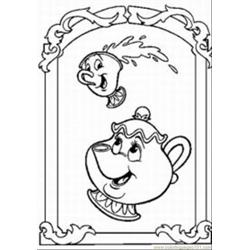 Sney Fairy Med coloring page