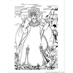 Princess Coloring Pages 25