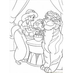 Princess Coloring Pages 5 Lrg Free Coloring Page for Kids