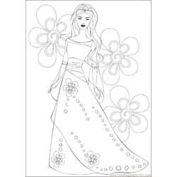 Princess Source 0ar Free Coloring Page for Kids