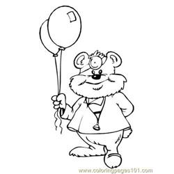 Doctor bear Free Coloring Page for Kids