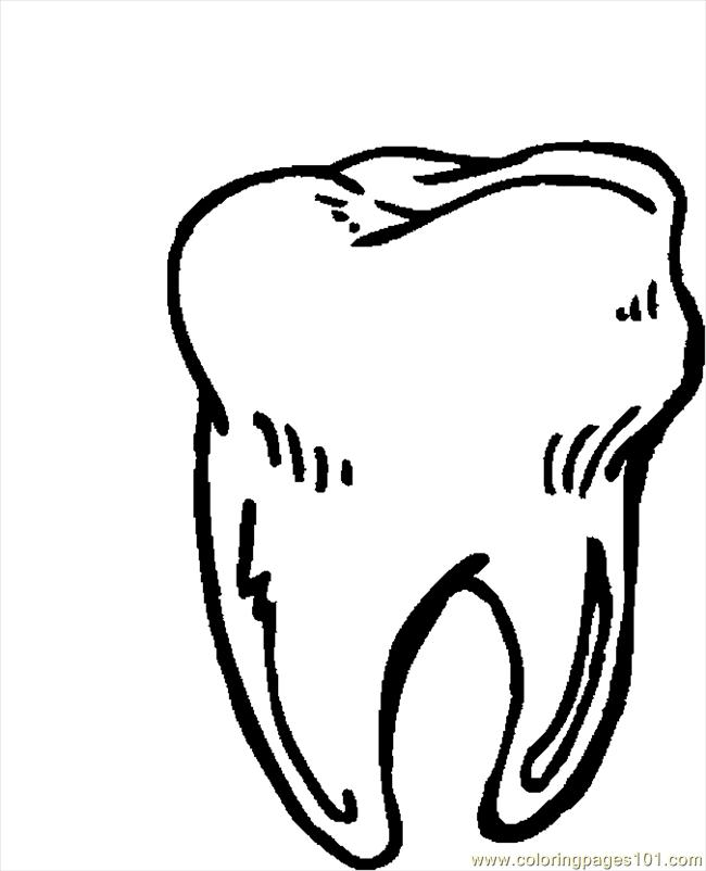 Tooth 11 Coloring Page - Free Doctors Coloring Pages ...