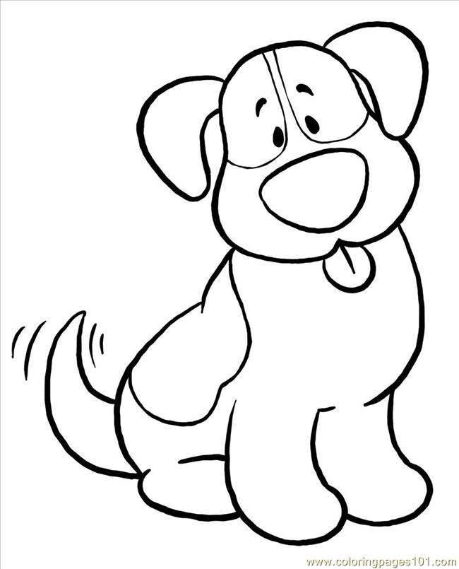 Bernie Big Coloring Page