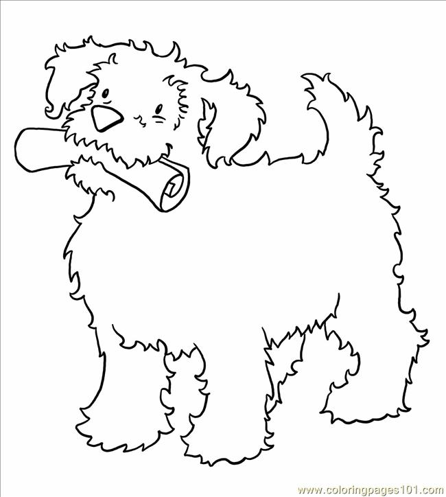 Dogpaper Big Coloring Page
