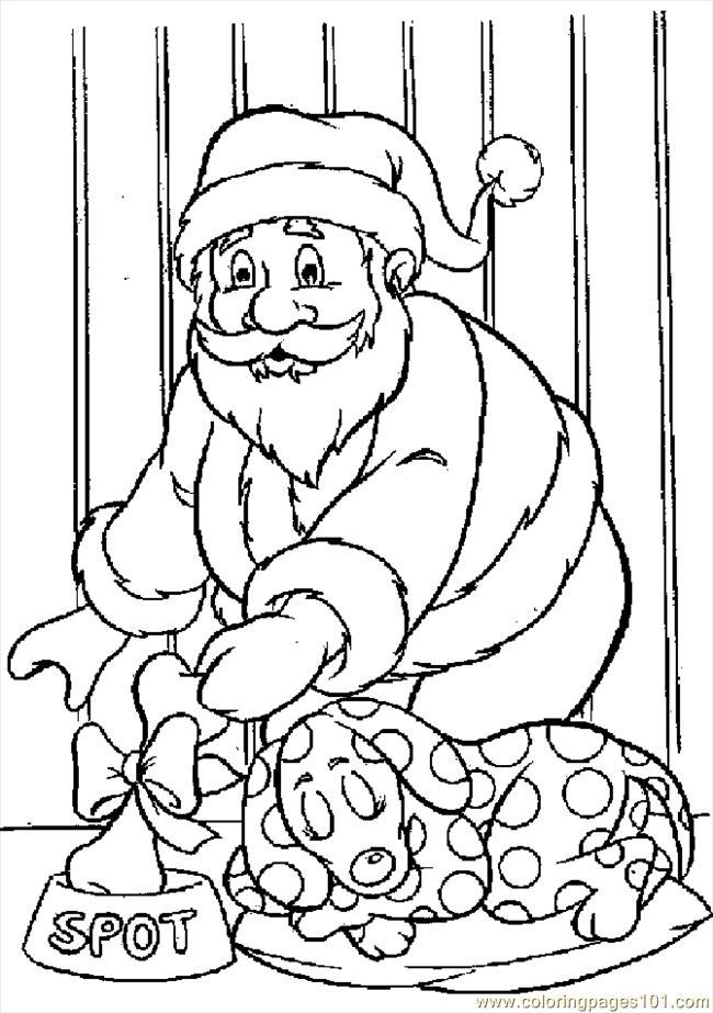 Sant26dog Coloring Page