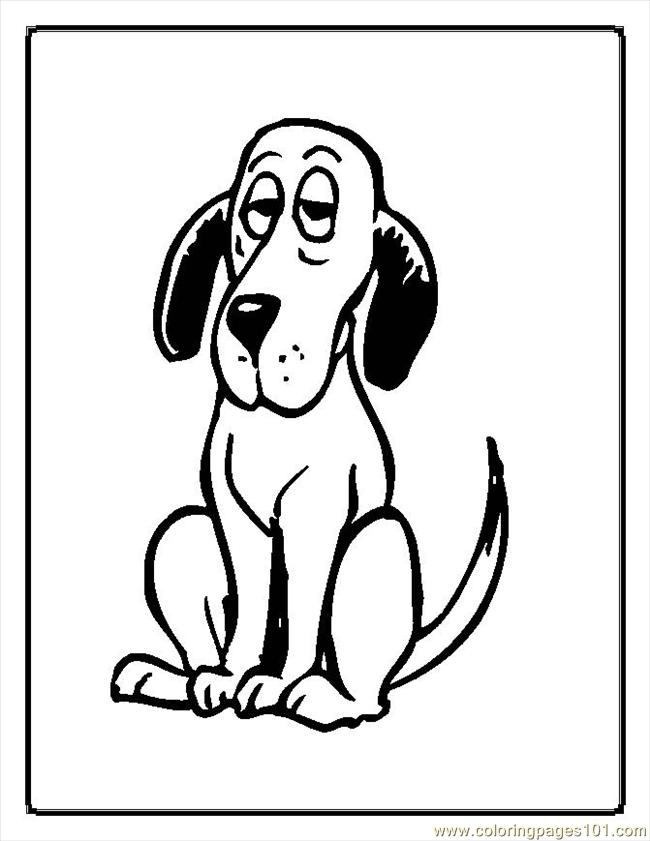 Dogs18 Coloring Page